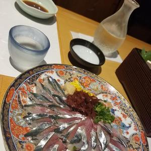 新鮮なお刺身と日本酒はの写真2枚目