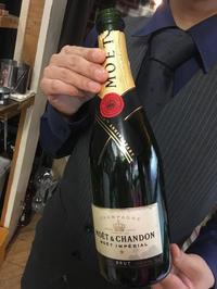 土曜日はステキな殿方がシャンパン飲ませてくれました♡の写真