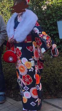 昨日は成人式でした❤︎晴天でよかった〜!私は紺の振袖着ましたよ😊の写真