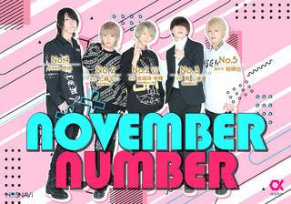 11月度ナンバー