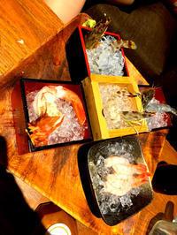 前にかれんと錦糸町で食べたエビ🦐の写真