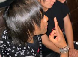 歌舞伎町ホストクラブR -TOKYO-のイベント「椿バースデーイベント」の様子