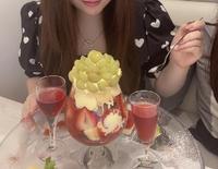 昨日はカフェに行きました!の写真