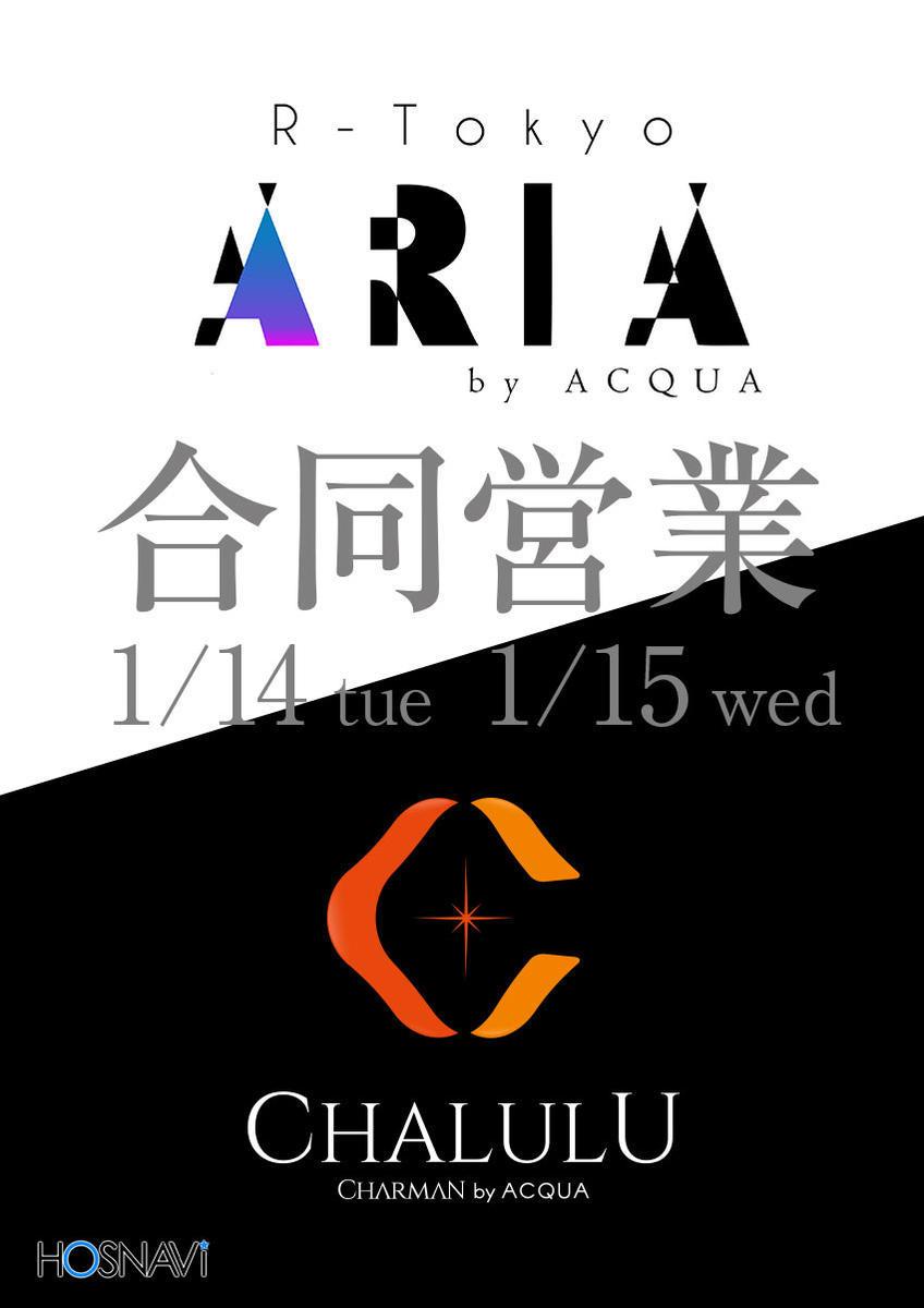 歌舞伎町 R−TOKYO ARIAのイベント「合同営業」のポスターデザイン