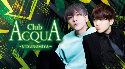 宇都宮ホストクラブ「ACQUA ~UTSUNOMIYA~」のメインビジュアル