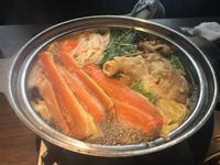昨日は蟹🦀を食べました〜の写真