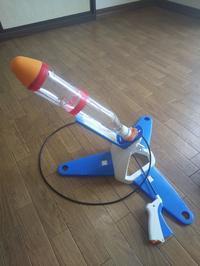 ペットボトルロケットの写真