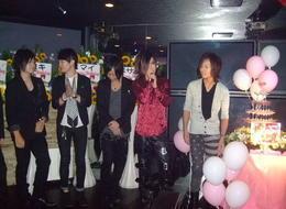 立川A LUXURY PARADISE TOKYOのイベント「雫★雅樹★リョウマ合同B.D」の様子