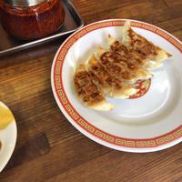 今日はお昼ひ隣の亀戸餃子でみれいちゃんとご飯食べましたー!!の写真