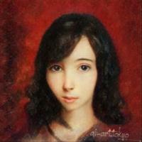 自分の肖像画😑の写真