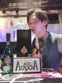 さてさてアクアドライブとアリアの合同営業二日目のラストソングは斗輝幹部補佐でした!の写真