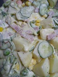 ポテトサラダの写真
