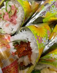 手巻き寿司買ってみました( ´∀`)の写真