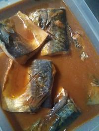 鯖の味噌煮の写真