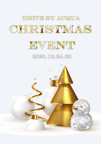 Drive12/24.25日にクリスマスイベントします!の写真
