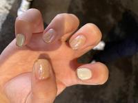 人差し指の爪が折れたのでそれに合わせてがんばって伸ばした爪切っちゃいました🥺の写真