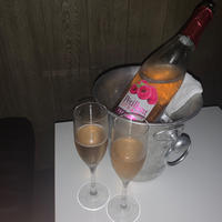 シャンパン頂きました🍾🥂💕の写真