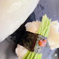 1人お寿司。の写真