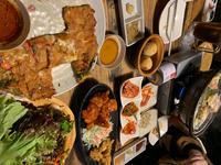 出勤前にみんなで韓国料理食べてきました!!の写真