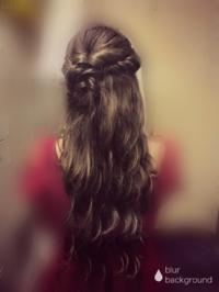 髪型💗の写真