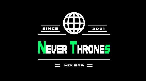 宇都宮ミックスバー「Never Thrones」のメインビジュアル