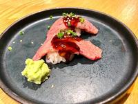 肉寿司🍣の写真