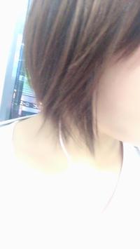 髪の毛切りました!の写真