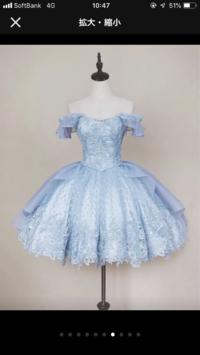 某サイトに売ってるこのドレス。。の写真