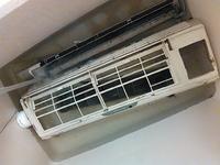 エアコン掃除の写真