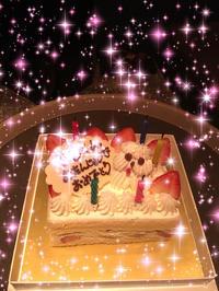 昨日はお客様のお誕生日お祝いしましたー!の写真