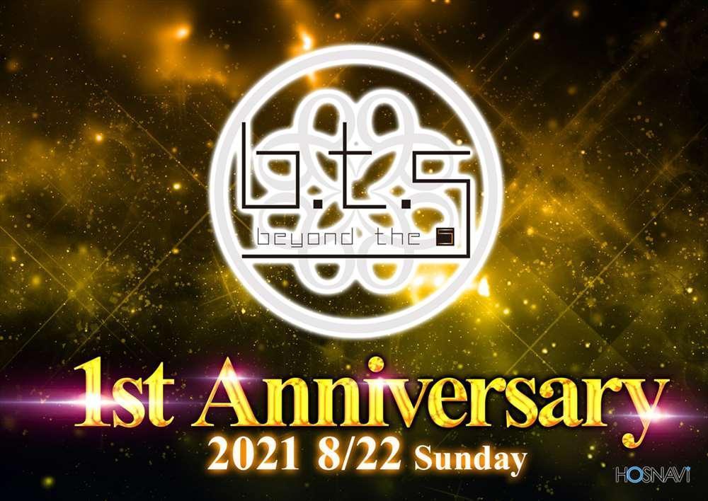 歌舞伎町B.T.Sのイベント「BTS1周年」のポスターデザイン