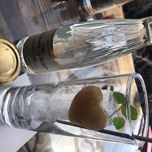 江ノ島でお洒落なジンジャエール飲みました😊の写真1枚目