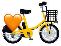 自転車🚲の写真