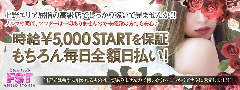上野セクキャバFIELD STONE(フィールドストーン)メインビジュアル