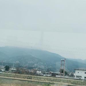 色々あって静岡に帰省したのですがあいにくの天気で富士山見えませんでした、、。の写真1枚目