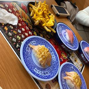 久しぶりのくら寿司🍣🍣の写真1枚目