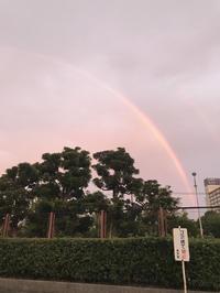 今日の朝は虹がでてました🌈💗💖の写真