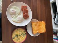 いつも朝時間なくて朝ご飯食べないのですが、の写真