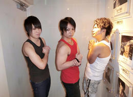 歌舞伎町ホストクラブNoelのイベント「🌟筋肉番付🎶Event🌟」の様子