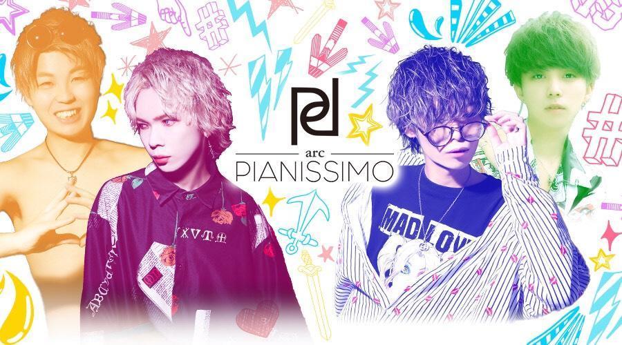 歌舞伎町ホストクラブ「arc -PIANISSIMO-」のメインビジュアル