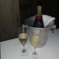 一昨日シャンパン頂きました🍾🥂💖の写真
