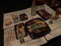 今日はお寿司😘の写真