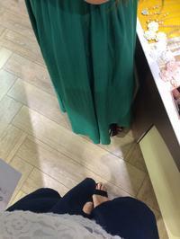 お買い物の写真