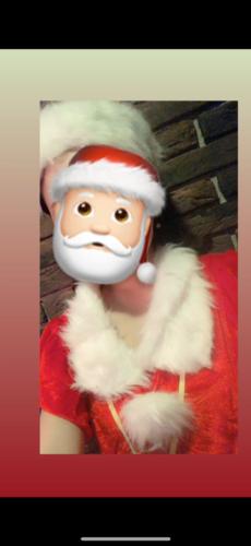 メリークリスマス🎄🥰今日出勤してます🎅🏻今日はクリスマスイベントやっていて、みんなサンタさんのコス…の写真