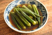 何気に買ったオクラの惣菜が美味しすぎて、ついつい全部食べてしまいました。の写真