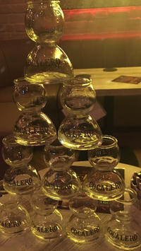 久々のお酒!久々のコカボムタワー!の写真