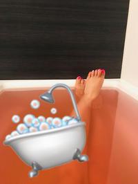 半身浴~🛁💗💗の写真