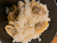 アサリの炊き込みご飯食べました(*^^*)の写真
