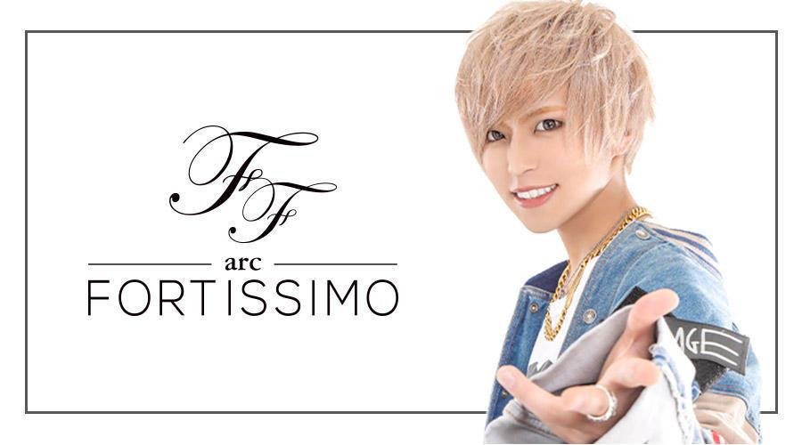 歌舞伎町ホストクラブ「arc -FORTISSIMO-」のメインビジュアル