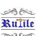 立川ボーイズバー「Rutile」のロゴ